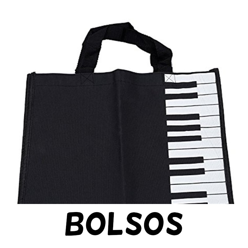 BOLSOS de notas musicales