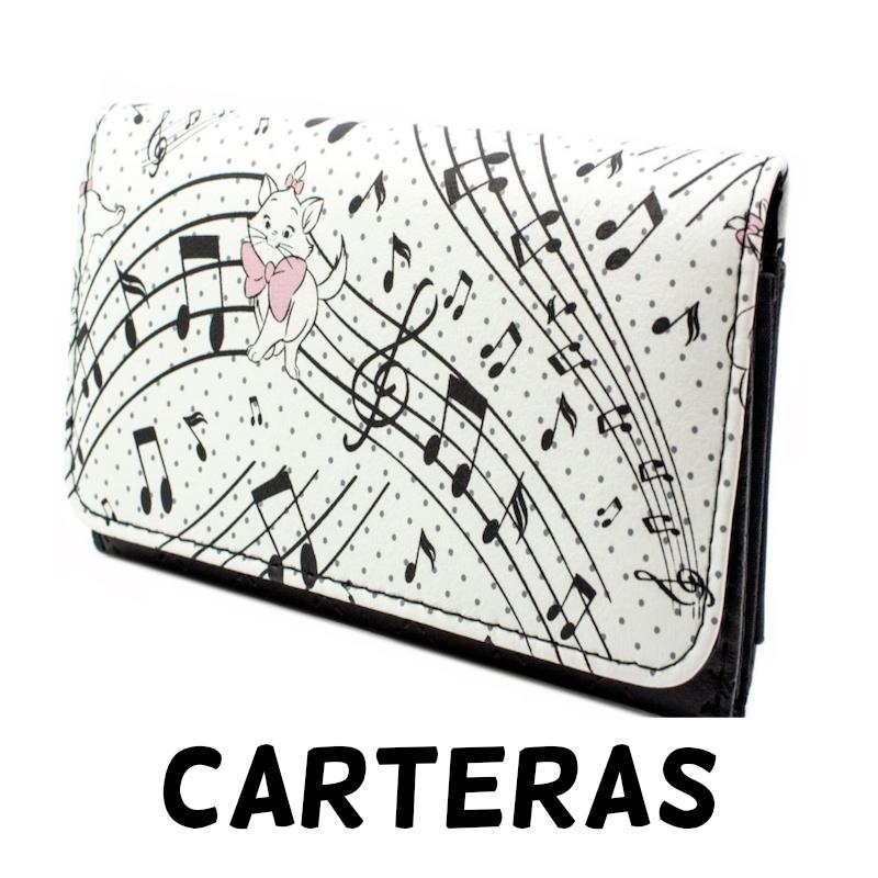 Carteras de notas musicales