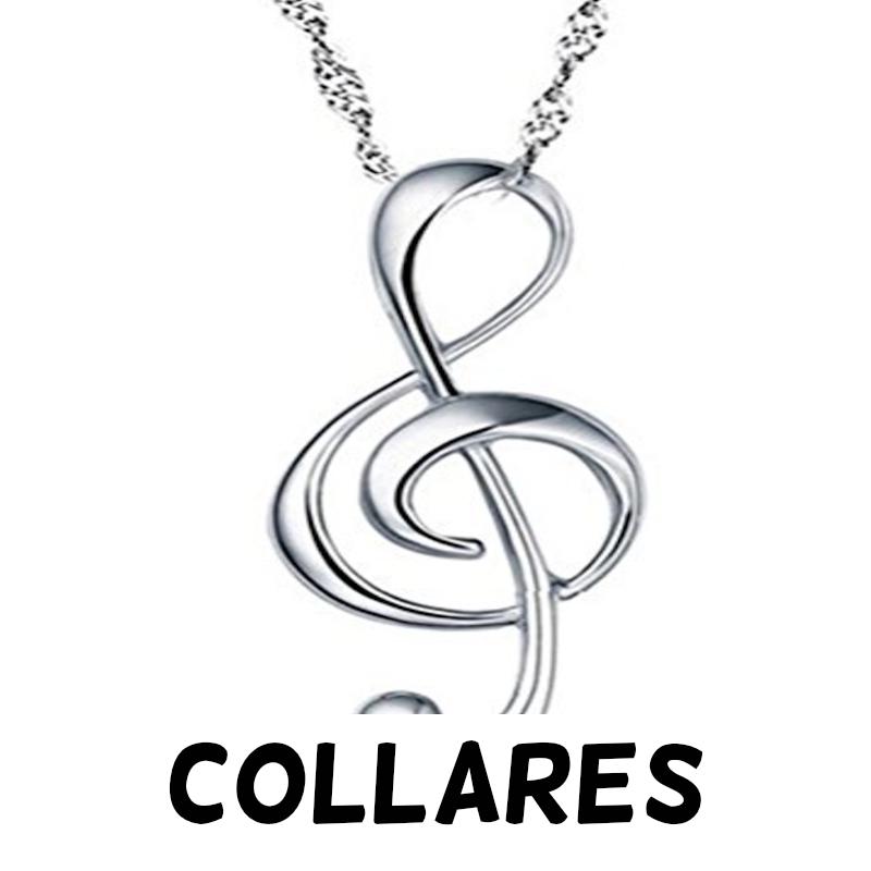 Collares de notas musicales