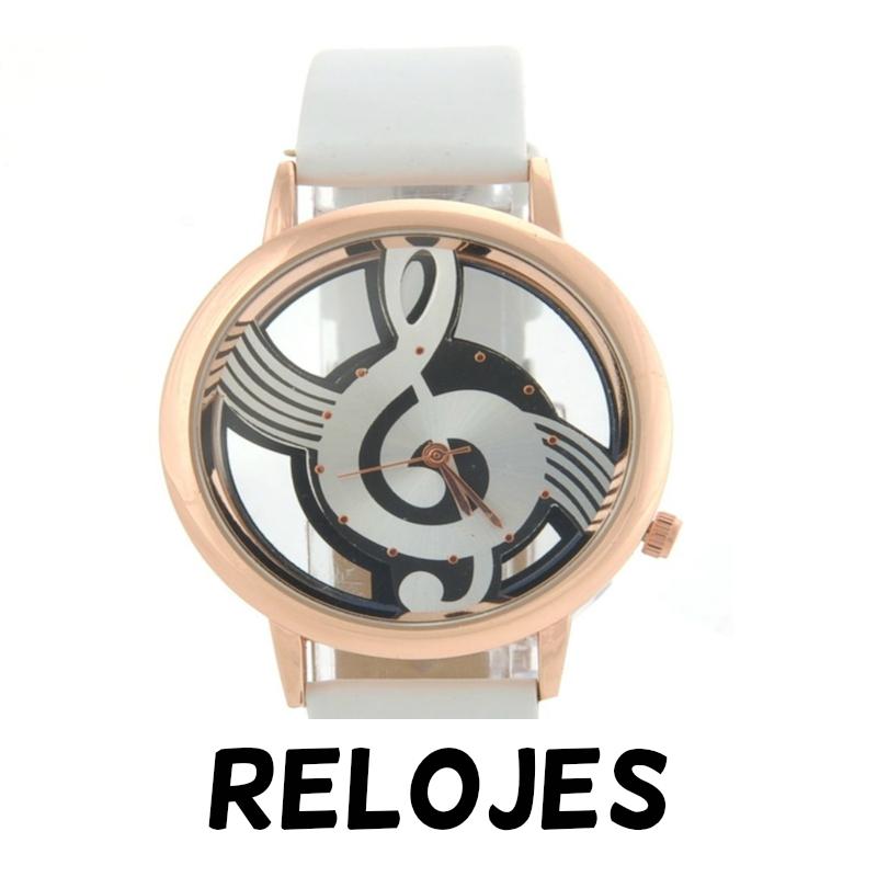 Relojes de notas musicales